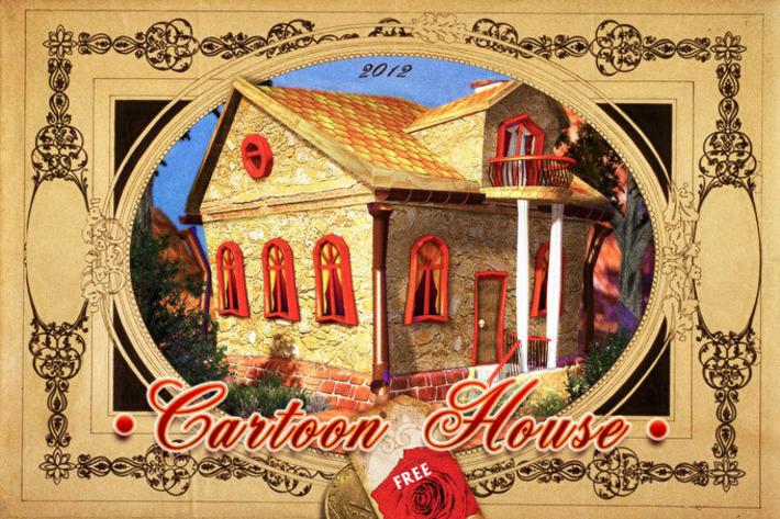 Cartoon House in Reallusion city | Machinimania | Scoop.it