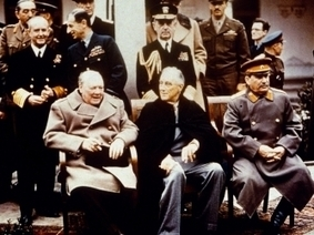Yalta Conference - World War II - HISTORY.com | The Yalta Conference | Scoop.it