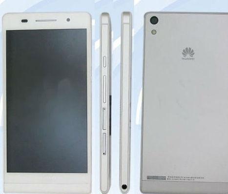 Huawei va commercialiser le smartphone le plus fin au monde, 6.18 mm | Geeks | Scoop.it