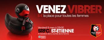 Stade Rennais invite les femmes à vibrer | Coté Vestiaire - Blog sur le Sport Business | Scoop.it