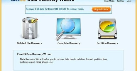 EaseUS Data Recovery Wizard Free, software gratis para recuperación de datos | Recull diari | Scoop.it