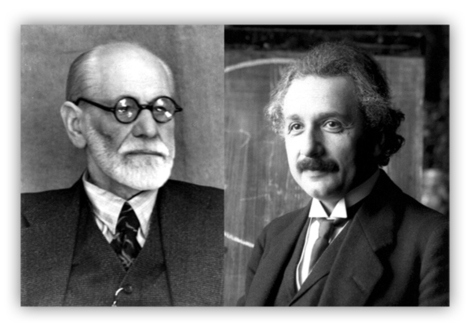 Albert Einstein​ & Sigmund Freud​ Exchange Letters and Debate How to Make the World FREE from WAR (1932) | Le BONHEUR comme indice d'épanouissement social et économique. | Scoop.it