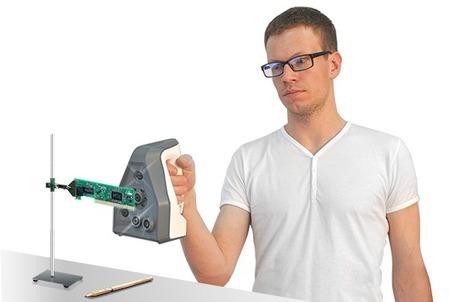 Scanner 3D pour imprimante 3D, laser ou lumière structurée | Poker Edge | Scoop.it