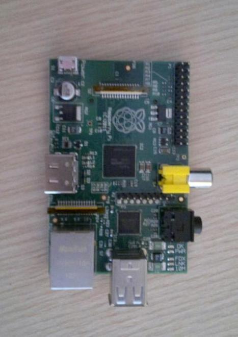 Twitter / ioprev: Hey, look! A Raspberry Pi!   Raspberry Pi   Scoop.it