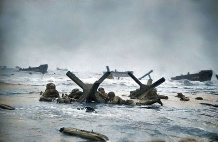 20 Incredible Colourised Images That Bring WWII To Life! - Page 2 of 3 | D-Day 1944 e-Mag | Scoop.it