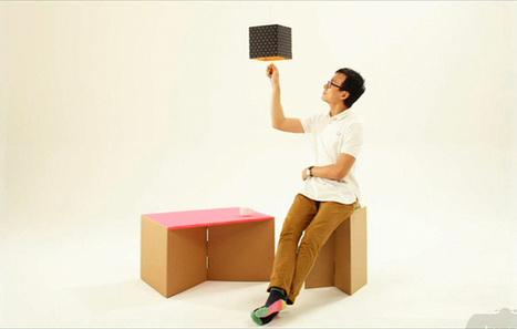 Influencia - Tendances - Le carton d'emballage devient un meuble | Retrouvez des conseils pour apprendre et bidouiller | Scoop.it