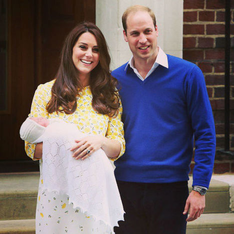 Princess Charlotte's cutest photos (so far!) | ♨ Family & Food ♨ | Scoop.it