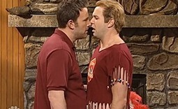 """WATCH – SNL and Ben Affleck Hysterically Mocks Ex-Gay Movement In """"New Beginnings""""  – Video 