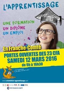 Portes ouvertes de l'apprentissage - Rectorat de l'académie de Besançon | Sélection pour l'enseignement TERTIAIRE dans les voies générale, technologique et professionnelle | Scoop.it