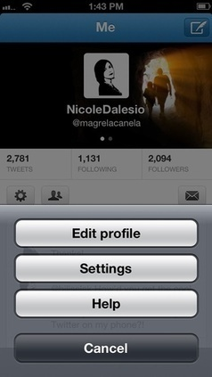 How to Make a Twitter Background for Mobile Twitter Users | Social Media Power | Scoop.it