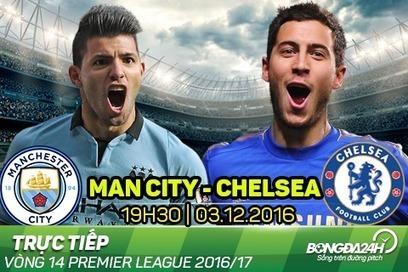 Trực tiếp Man City vs Chelsea 19h30 ngày 03/12 NHA 2016/17   Trang tin tức   Scoop.it