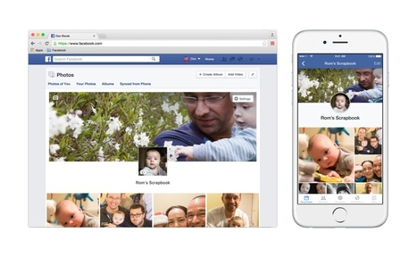"""Watch and share your child's growth using Facebook's Scrapbook""""   Social Media   Scoop.it"""