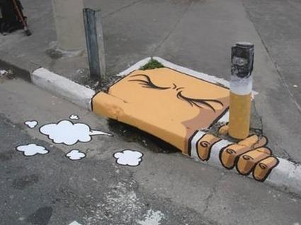 Twitter / jbdba: Excellent ce street art ! ... | Street art | Scoop.it