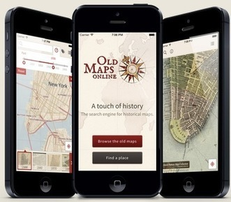 Old Maps on new devices — @joycevalenza NeverEndingSearch | Android Apps in Education | Scoop.it