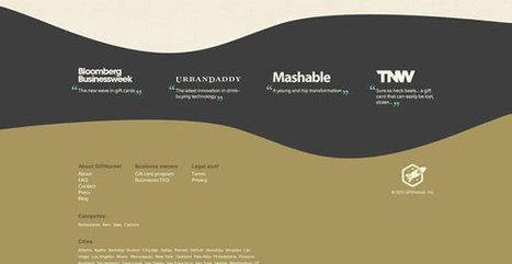 20 Stunning Examples of Website Footer Designs | 3W-Edge Blog | la veille du consultant formateur internet | Scoop.it