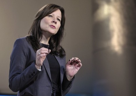 The rundown on Mary Barra, first female CEO of General Motors | AP Human Geography | Scoop.it
