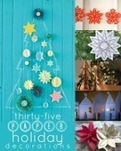 Remodelaholic | 35 Paper Christmas Decorations To Make This Holiday Season | Christmas Decorations | Scoop.it