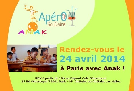 RDV le 24 avril 2014 pour un Apéro Solidaire avec Anak Bali - Balisolo | Scoop Indonesia | Scoop.it