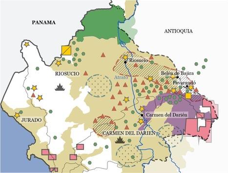 Cartes : Land Grabbing et négociations de paix en Colombie (Noria) (en anglais)   Géographie des conflits   Scoop.it