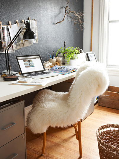 Le bureau d'Emma du blog The Marion House Book | DecoCrush blog déco, idées déco | décoration & déco | Scoop.it