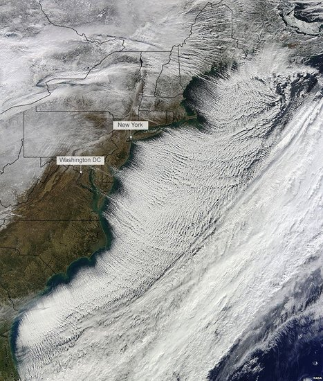 North America's big freeze seen from space | Year 11 Geography | Scoop.it