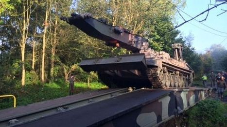 Ittre: l'armée vient à la rescousse de 6 familles en installant un pont - RTBF Regions | Inondations en Wallonie | Scoop.it
