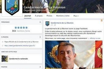 Les gendarmes péi aussi ont leur page Facebook - Clicanoo | Les impacts du web 2.0 sur l'entreprise | Scoop.it