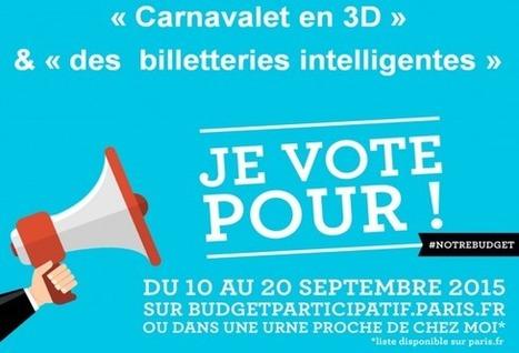 Le budget participatif Paris 2015 propose de soutenir deux projets numériques dans des musées de la capitale   Clic France   Scoop.it