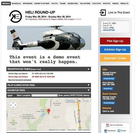 RC Flightdeck offers a great tool to manage RC aerial events. | DroneLand Times | Scoop.it