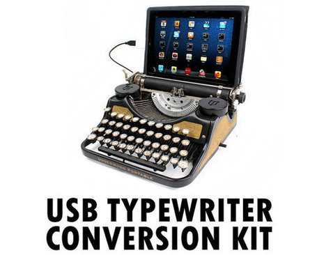 DIY USB Typewriter Conversion Kit | Breaking Gear | Stuff that matters to me | Scoop.it