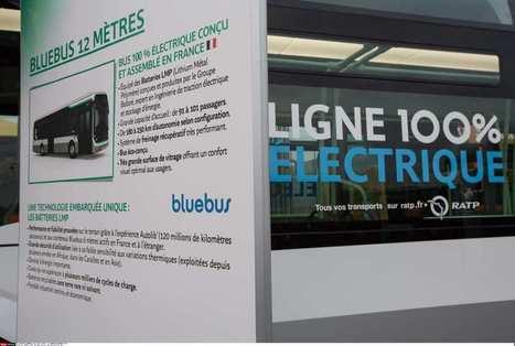 La RATP met en service son premier Bluebus, le bus électrique de Bolloré   actualités en seine-saint-denis   Scoop.it