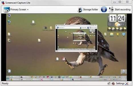 Faire une capture vidéo en continu de l'écran de son PC, Screencast capture | Les Infos de Ballajack | François MAGNAN  Formateur Consultant | Scoop.it
