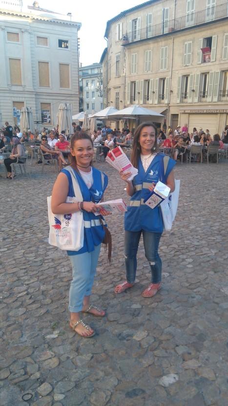 Une photo de l'ouverturedu festival d'Avignon avec l'accord du In et la Mairie | Initiatives solidaires | Scoop.it