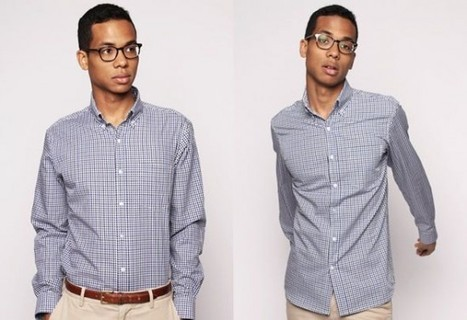Textile Company Creates Men's Shirt That Doesn't Require Washing and Ironing | Strange days indeed... | Scoop.it