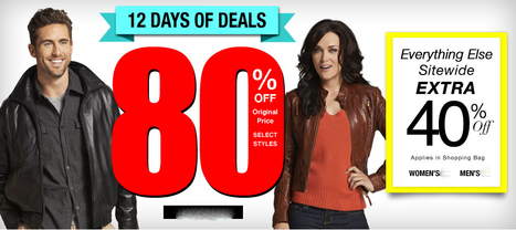 Wilson leather coupon 20%- Buy them at great prices online Winter jackets and coats   Making of fashion   Scoop.it