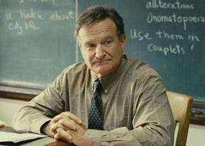 7 σπουδαία μαθήματα ζωής που πήραμε μέσα από τους ρόλους του Robin Williams | omnia mea mecum fero | Scoop.it
