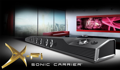 Creative X-Fi Sonic Carrier is a High-end Android based Speaker and Video System | Embedded Systems News | Scoop.it