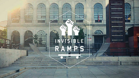 Une rampe de skate invisible | L'actualité de la réclame internationale | Scoop.it
