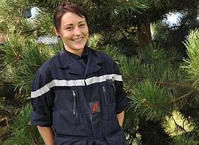 Carole Jarlot, une femme, mais avant tout un sapeur-pompier | Mon étude:L'impact de la cohésion de  groupes dans les métier a risques | Scoop.it