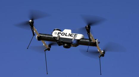 La police veut s'équiper de drones | Nouvelles technologies - SEO - Réseaux sociaux | Scoop.it