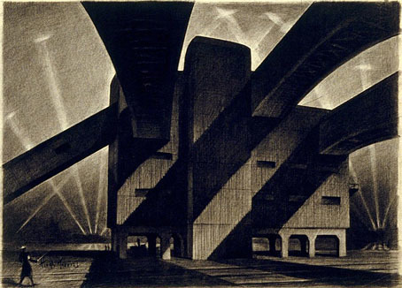 Hugh Ferriss and The Metropolis of Tomorrow | Architectural renderings and digital architecture | Scoop.it