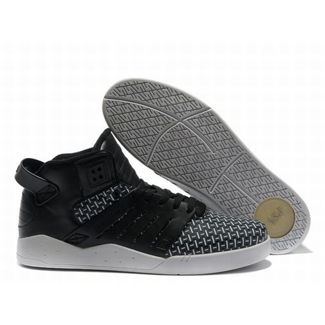Black and White High Top Supra Footwear Skytop 3 Mens | new and share list | Scoop.it