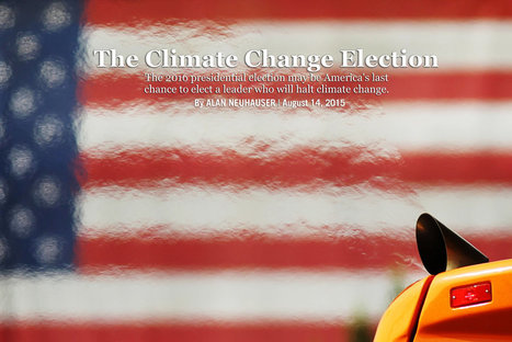 The Climate Change Election | Sustain Our Earth | Scoop.it