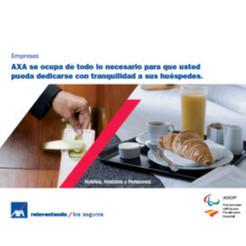 AXA lanza una oferta aseguradora para hoteles, pensiones y hostales - Inese.es | Viajar en carretera gratis | Scoop.it