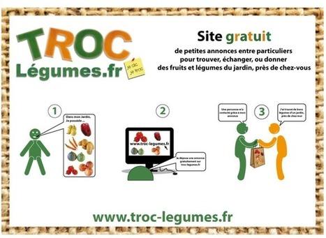 Troc légumes, un site pour échanger, donner ou vendre vos légumes - Jacky La Main Verte | troc de légumes entre particuliers | Scoop.it
