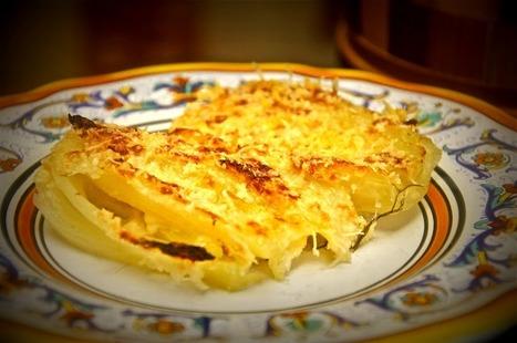 Finocchi gratinati - Gratinéed Fennel   Le Marche and Food   Scoop.it