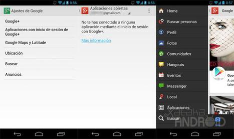 Ajustes de Google, un nuevo acceso directo en tu Android para configurar los productos de Google | Recull diari | Scoop.it