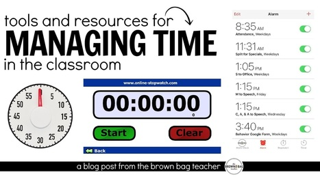 Managing Time in the Classroom | Cool School Ideas | Scoop.it