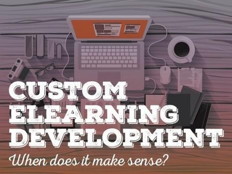 Custom eLearning Development: When Does It Make Sense? - eLearning Brothers | Aurion E-learning | Scoop.it