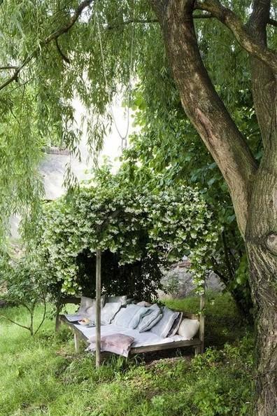 { Today I ♥ } Les terrasses et jardins ombragés | DecoCrush blog déco, idées déco | décoration & déco | Scoop.it